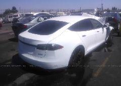 2015 Tesla MODEL S - 5YJSA1H20FFP75989 rear view