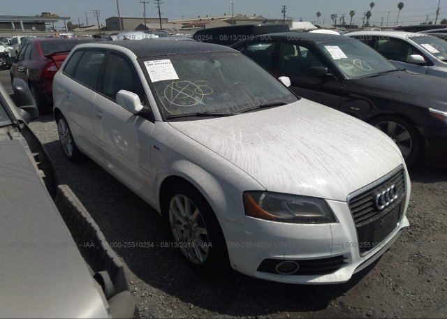 WAUACGFF6F1110650, Salvage Certificate black Audi A3 at SAN DIEGO