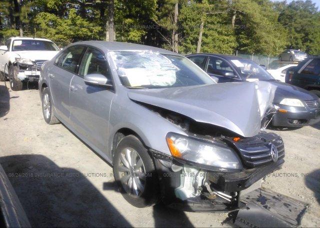 Inventory #805638563 2013 Volkswagen PASSAT
