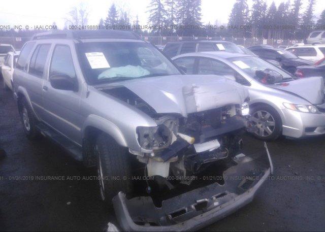 Inventory #829912074 2002 Nissan PATHFINDER