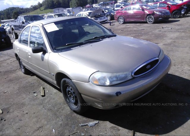 3fafp66z5ym110538 Salvage Certificate Gold Ford Contour At