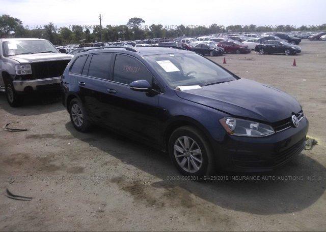 Inventory #766166339 2016 Volkswagen GOLF SPORTWAGEN