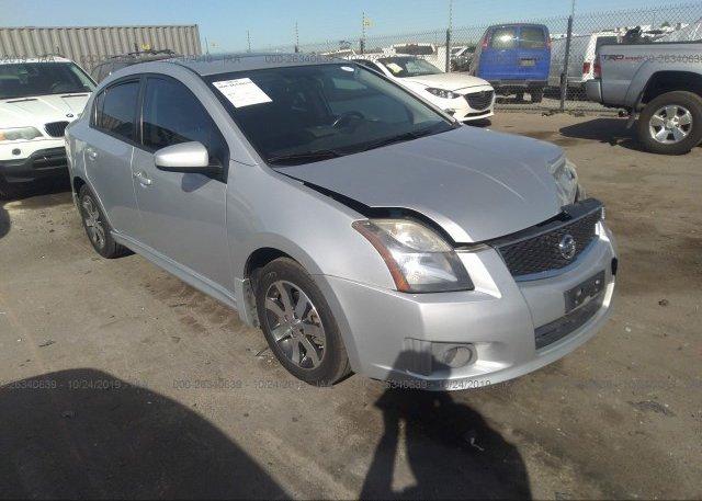Inventory #524463480 2012 Nissan SENTRA