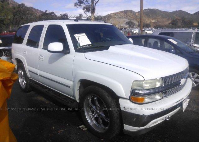 Inventory #348512553 2004 Chevrolet TAHOE