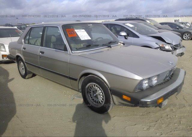Inventory #396121835 1985 BMW 528