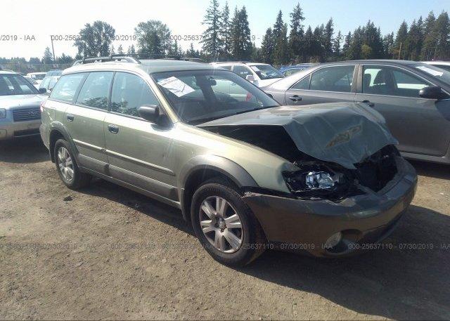 Inventory #118818021 2005 Subaru LEGACY