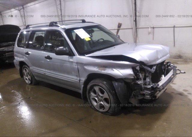 Inventory #668507932 2003 Subaru FORESTER