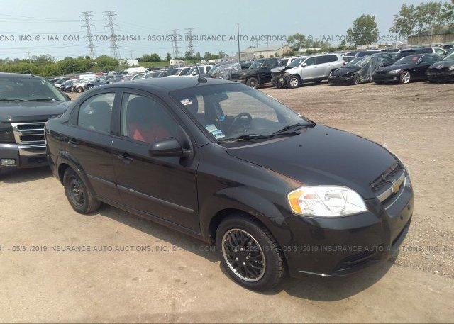 Inventory #520190408 2010 Chevrolet AVEO
