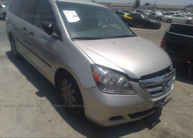 Inventory #589732931 2007 Honda ODYSSEY