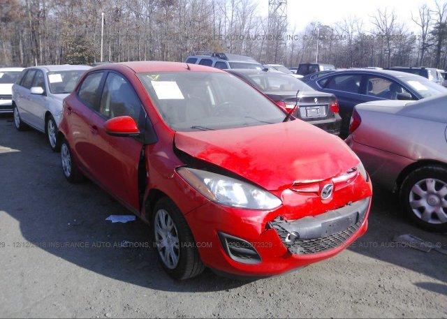 Inventory #110976817 2013 Mazda MAZDA2