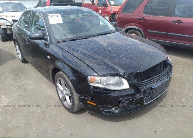 Inventory #478767940 2007 AUDI A4
