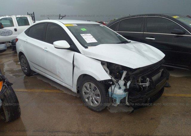 Inventory #924855336 2016 Hyundai ACCENT