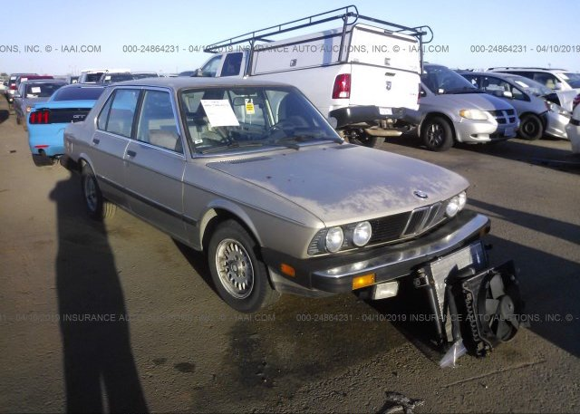 Inventory #857651637 1985 BMW 528