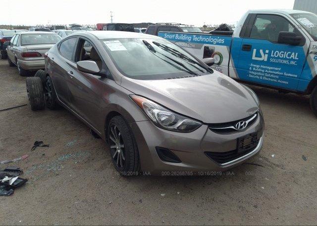 Inventory #687608241 2011 Hyundai ELANTRA