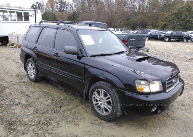 Inventory #764531726 2005 Subaru FORESTER