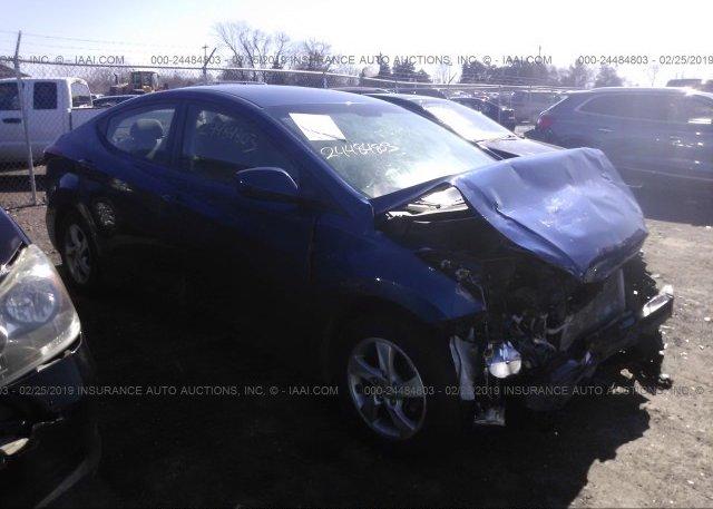 Inventory #845982343 2015 Hyundai ELANTRA
