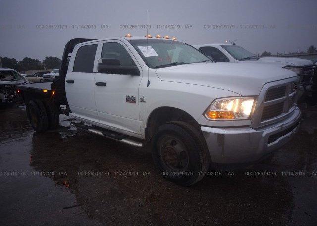 Inventory #195523204 2012 DODGE RAM 3500