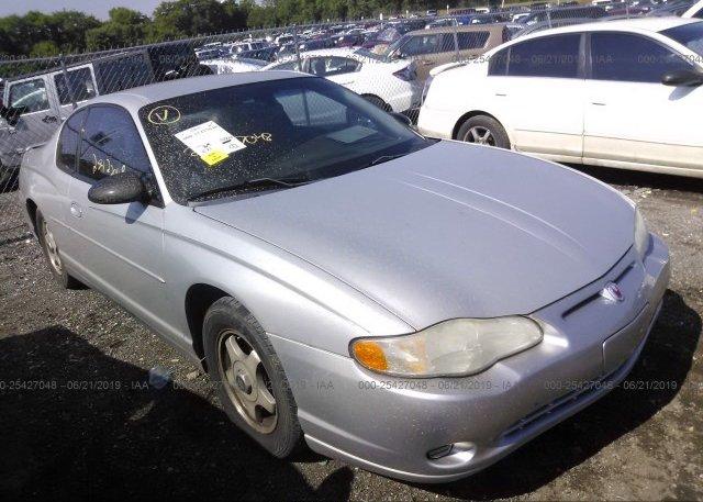 Inventory #839184061 2004 Chevrolet MONTE CARLO