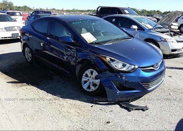 Inventory #455340166 2016 Hyundai ELANTRA
