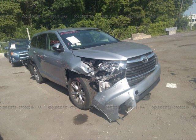 Inventory #431093686 2015 Toyota HIGHLANDER
