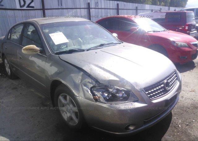 1n4al11d25n417364 Salvage Silver Nissan Altima At Ogden Ut On