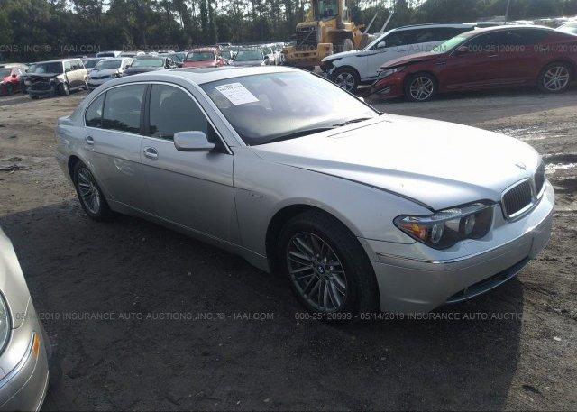 Inventory #960370853 2005 BMW 745