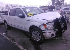 2011 FORD F150 - 1FTFW1ET7BFD01026 Left View