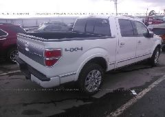 2011 FORD F150 - 1FTFW1ET7BFD01026 rear view