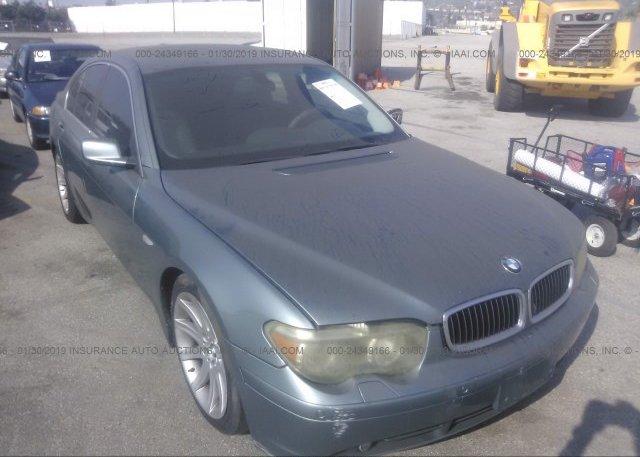 Inventory #442478149 2003 BMW 745