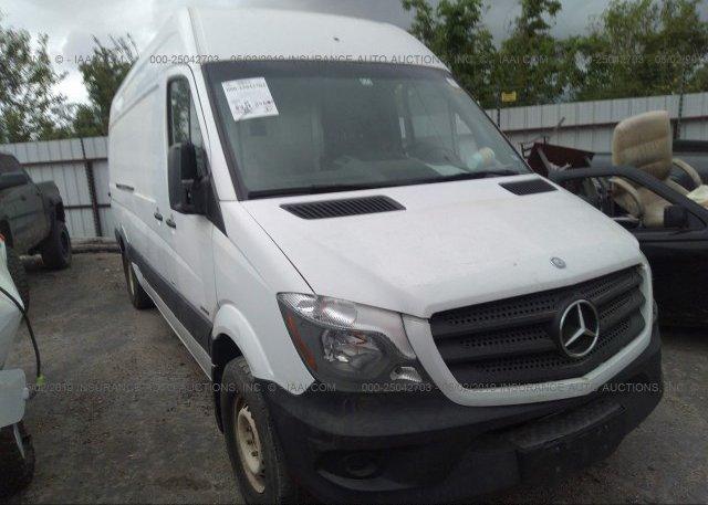 Inventory #172008799 2015 Mercedes-benz SPRINTER