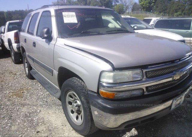 Inventory #967126328 2005 Chevrolet TAHOE