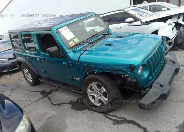Inventory #768782339 2019 JEEP WRANGLER UNLIMITE