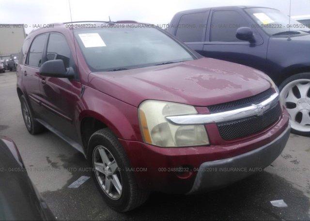 Inventory #201102716 2005 Chevrolet EQUINOX