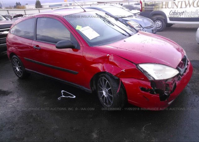 Inventory #983128823 2002 FORD FOCUS