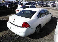 2006 Chevrolet IMPALA - 2G1WB58K469359849 rear view