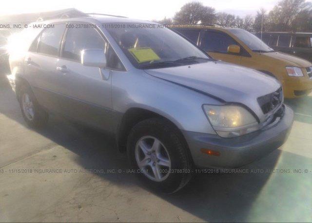 Inventory #588657960 2003 Lexus RX