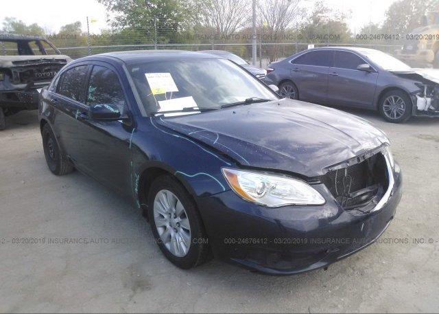 Inventory #398860110 2014 Chrysler 200