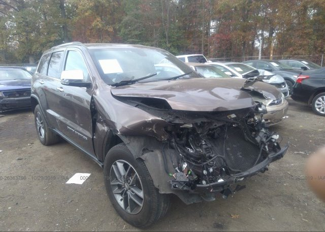 Inventory #568914497 2017 JEEP GRAND CHEROKEE