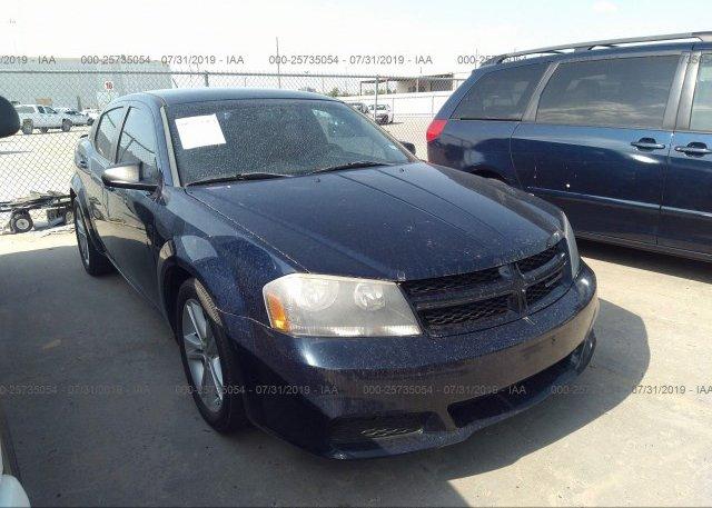 Inventory #395589618 2014 Dodge AVENGER