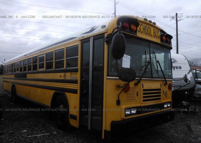 Inventory #785662817 2008 BLUE BIRD SCHOOL BUS / TRAN