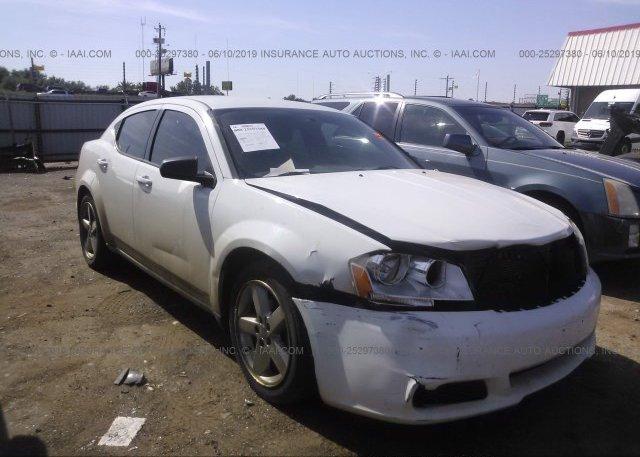 Inventory #850989550 2013 Dodge AVENGER