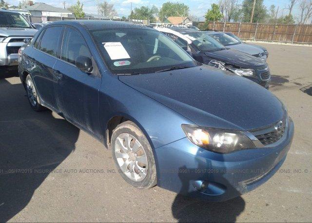 Inventory #448524037 2008 Subaru IMPREZA