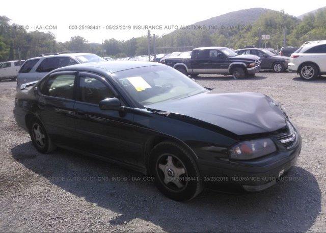 Inventory #915347304 2002 Chevrolet IMPALA