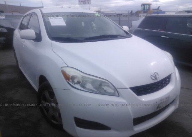 Inventory #311348642 2009 Toyota COROLLA MATRIX