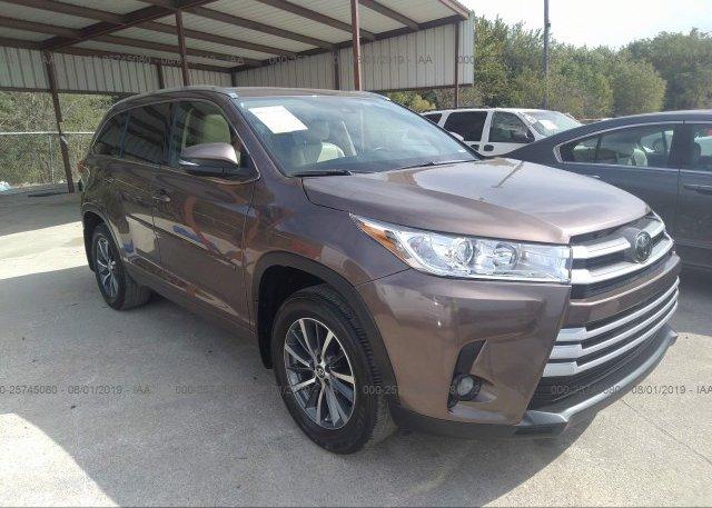 Inventory #153077712 2017 Toyota HIGHLANDER