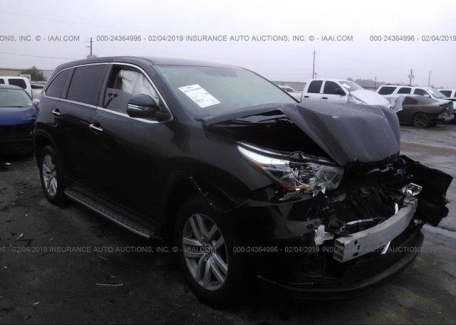 Inventory #589006384 2016 Toyota HIGHLANDER