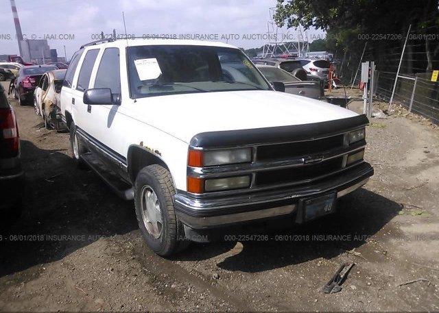 Inventory #221221200 1999 Chevrolet TAHOE
