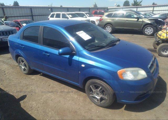 Inventory #291157233 2008 Chevrolet AVEO