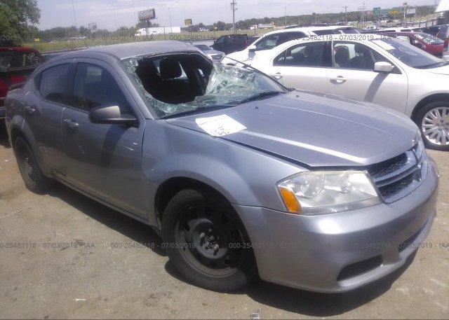 Inventory #721999419 2013 Dodge AVENGER