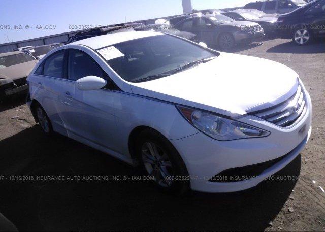 Inventory #222202047 2014 Hyundai SONATA